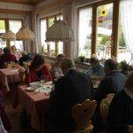 Mittagsessen im Alpenblick