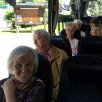 Im Bus nach Mittenwald