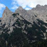 Westseite Karwendelgebirge