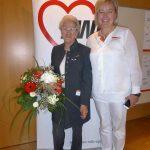 Thea mit Präsidentin Nicole Schley BZ OBB