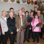 Die Jubilare mit Ehrengästen