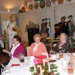 Mitglieder auf der Weihnachtsfeier