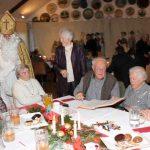 Der Nikolaus besucht die AWO