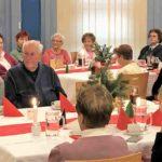 AWO Weihnachtsfest 2018 mit Jubilaren L. Ernst und F. Fritsch