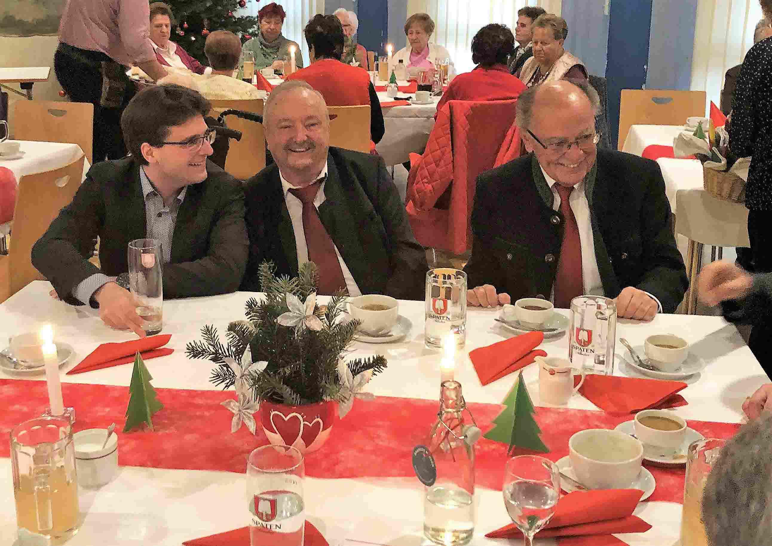 OB Florian Hartmann, StR H. Ullmann, BZ Präsident Josef Mederer