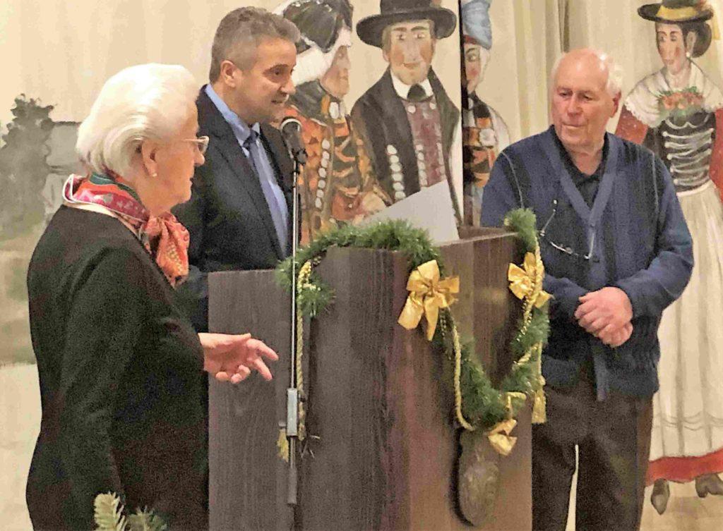 Jubilar Ludwig Ernst 70 Jahre Mitgliedschaft