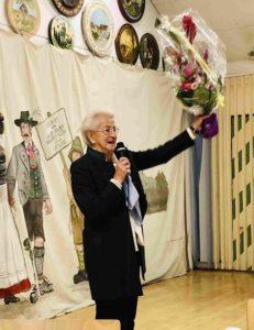 Thea 35 Jahre Vorsitzende des Ortsvereines