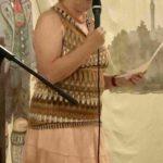 Anni Härtl bei Ihrem Vortrag