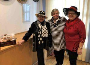 Helga, Elfriede und Therese