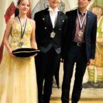 Das Prinzenpaar mit OB Hartmann